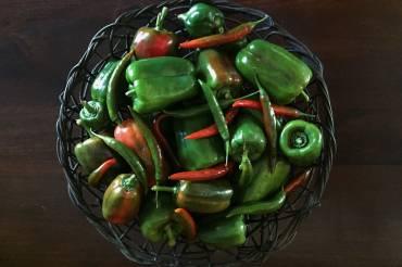 Homemade mild chilli relish