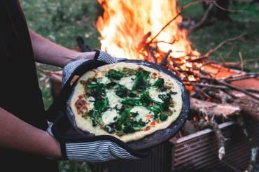 Farm Greens Pizza